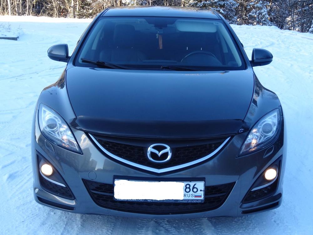 Подержанный Mazda 6, хорошее состояние, мокрый асфальт , 2010 года выпуска, цена 640 000 руб. в ао. Ханты-Мансийском Автономном округе - Югре