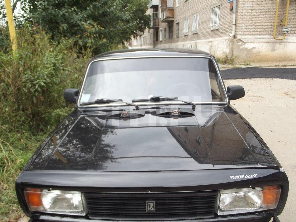 Подержанный ВАЗ (Lada) 2105, хорошее состояние, черный металлик, 2010 года выпуска, цена 121 100 руб. в Челябинской области