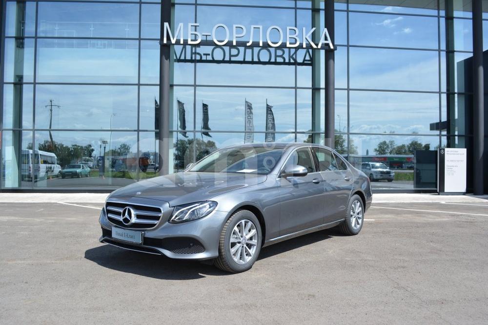 Новый авто Mercedes-Benz E-Класс, серый металлик, 2016 года выпуска, цена 3 291 369 руб. в автосалоне МБ-Орловка (Набережные Челны, тракт Мензелинский, д. 24)
