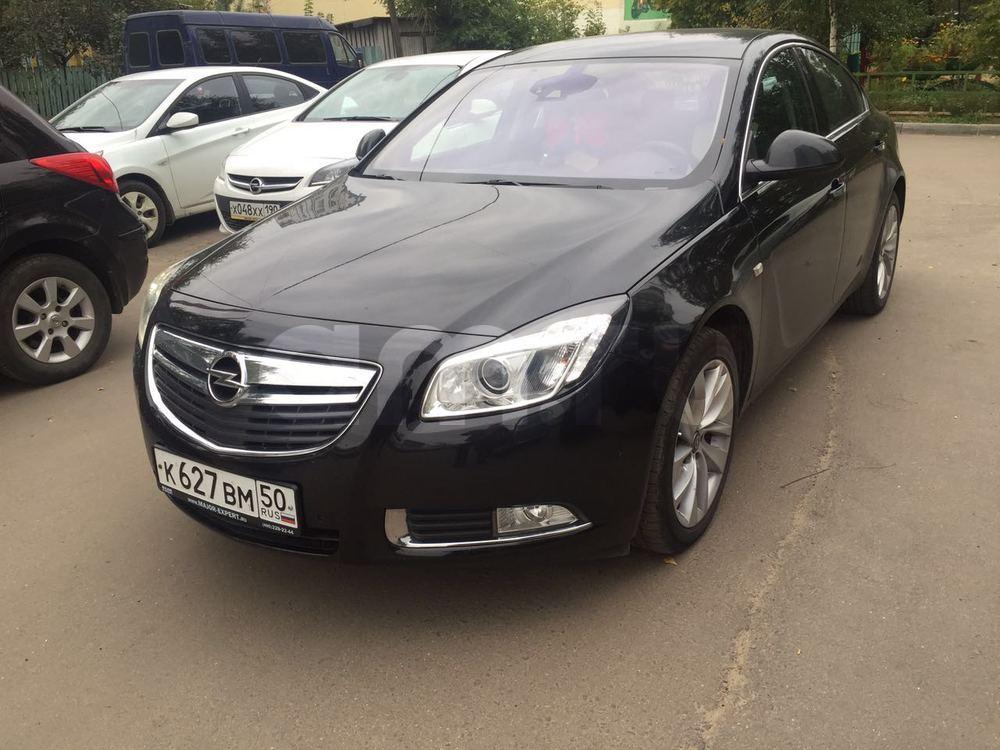 Подержанный Opel Insignia, отличное состояние, черный , 2013 года выпуска, цена 860 000 руб. в Московской области