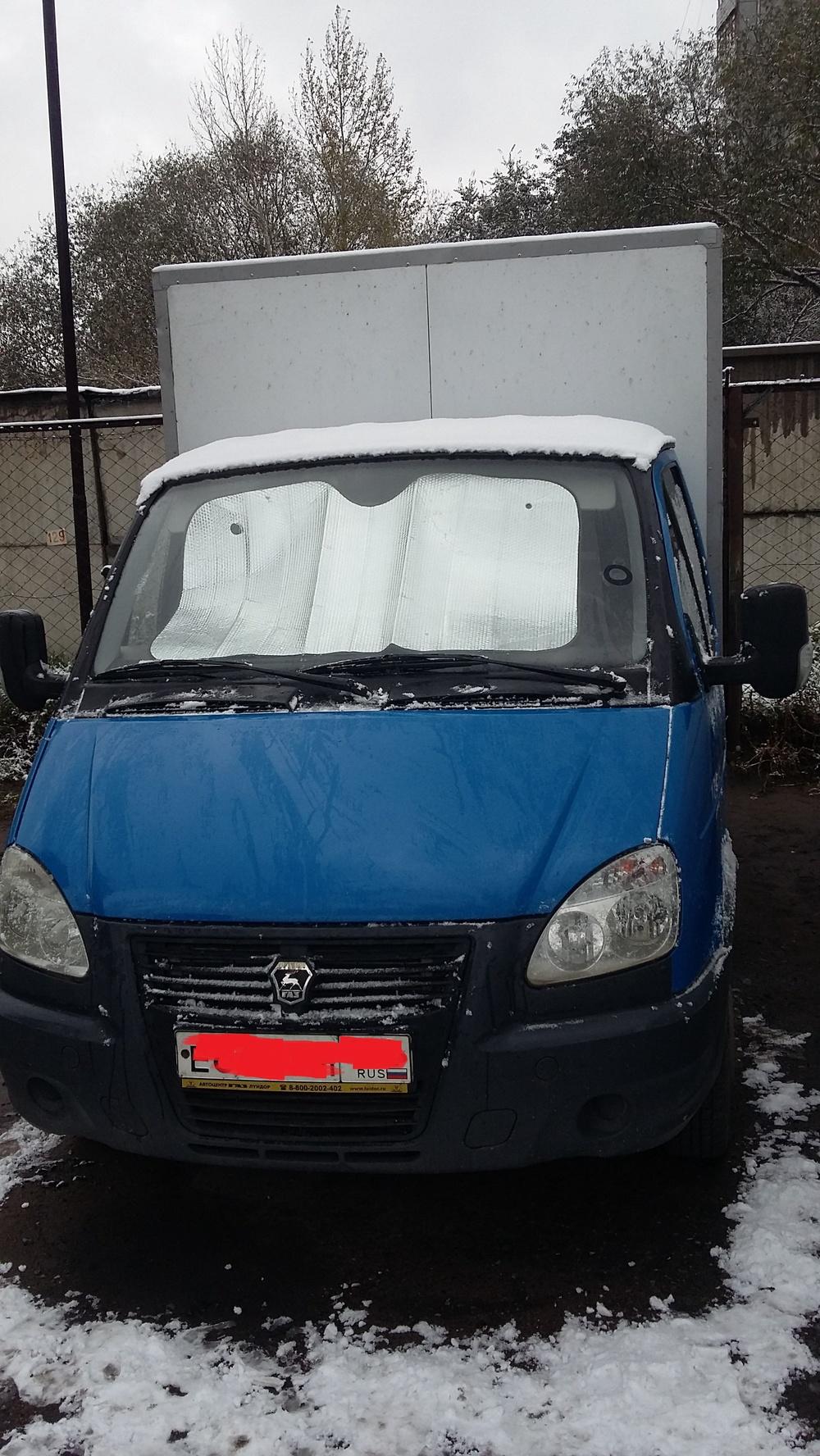 Подержанный ГАЗ Газель, отличное состояние, синий , 2011 года выпуска, цена 400 000 руб. в Омске