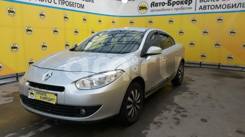Renault Fluence с пробегом, серебряный , отличное состояние, 2010 года выпуска, цена 369 000 руб. в автосалоне  ()