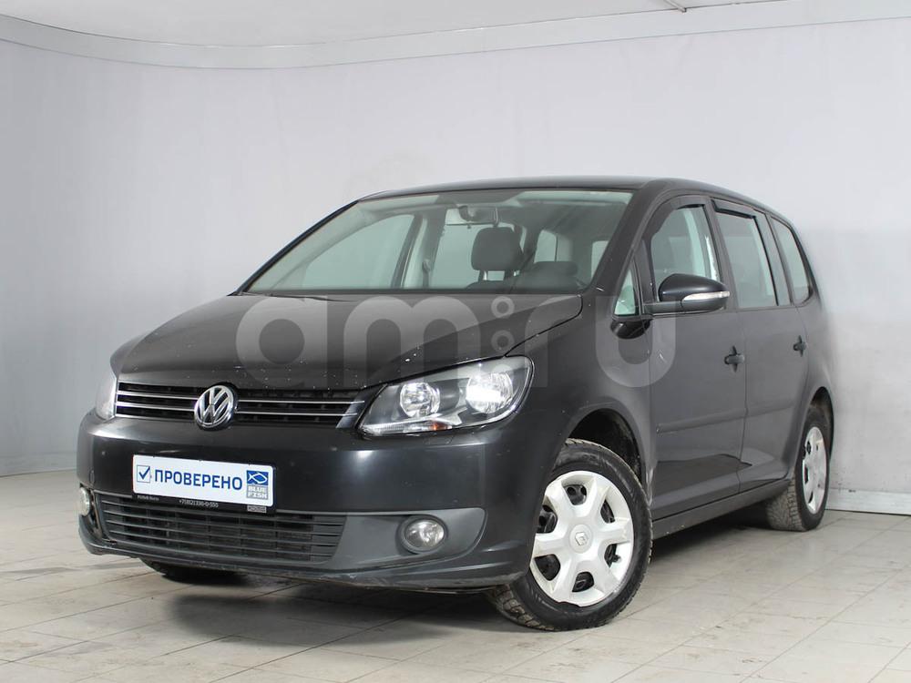 Volkswagen Touran с пробегом, черный , отличное состояние, 2011 года выпуска, цена 480 000 руб. в автосалоне РОЛЬФ Лахта Blue Fish (Санкт-Петербург, ул. Савушкина, д. 103)