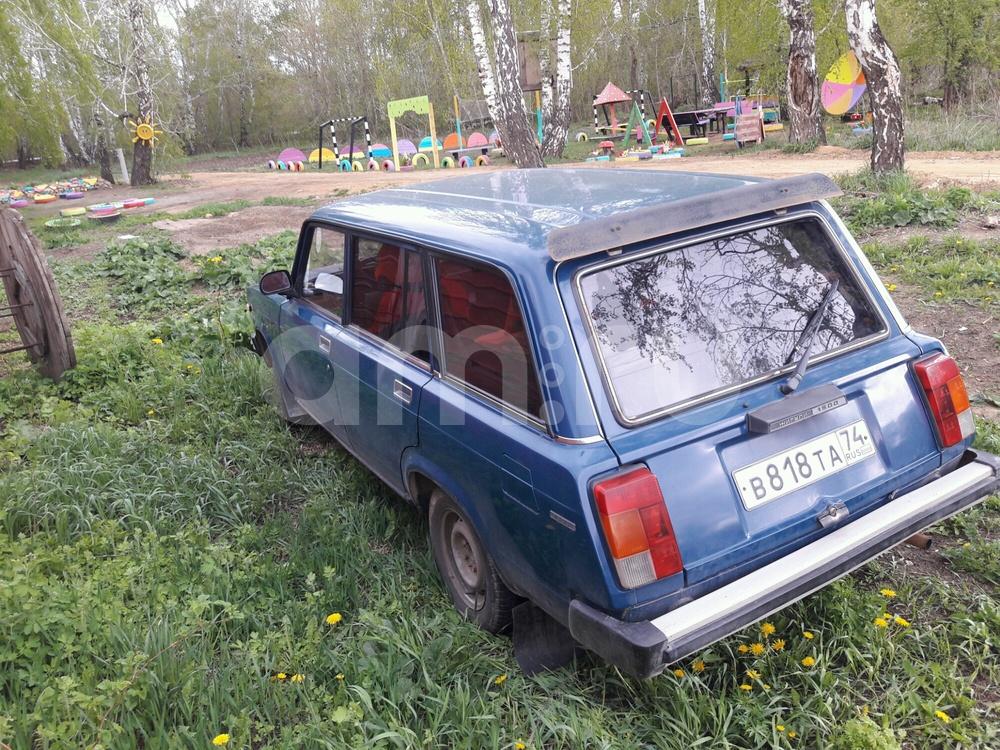 Подержанный ВАЗ (Lada) 2104, хорошее состояние, синий , 2002 года выпуска, цена 55 500 руб. в Челябинской области