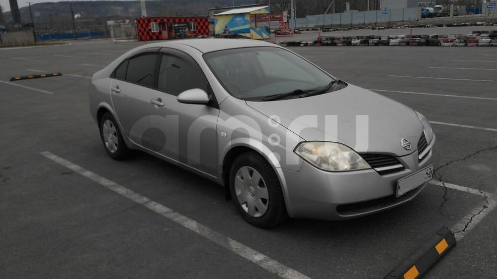 Подержанный Nissan Primera, отличное состояние, серебряный , 2001 года выпуска, цена 265 000 руб. в Кемеровской области