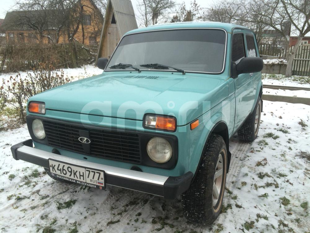 Подержанный ВАЗ (Lada) 4x4, отличное состояние, голубой , 2000 года выпуска, цена 155 000 руб. в Смоленской области