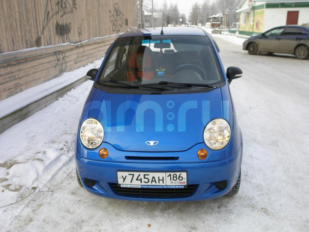 Подержанный Daewoo Matiz, отличное состояние, синий металлик, 2012 года выпуска, цена 205 000 руб. в ао. Ханты-Мансийском Автономном округе - Югре