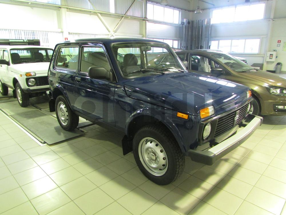 ВАЗ (Lada) 4x4 с пробегом, синий , отличное состояние, 2015 года выпуска, цена 475 000 руб. в автосалоне  ()