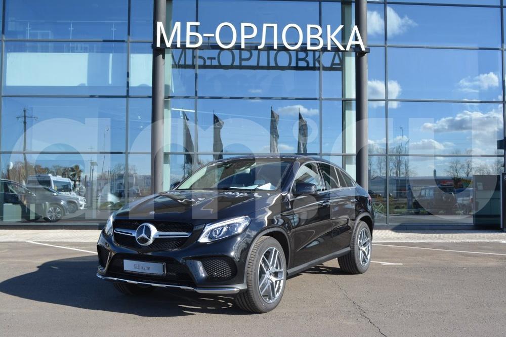 Новый авто Mercedes-Benz GLE-Класс, черный металлик, 2016 года выпуска, цена 5 635 000 руб. в автосалоне МБ-Орловка (Набережные Челны, тракт Мензелинский, д. 24)