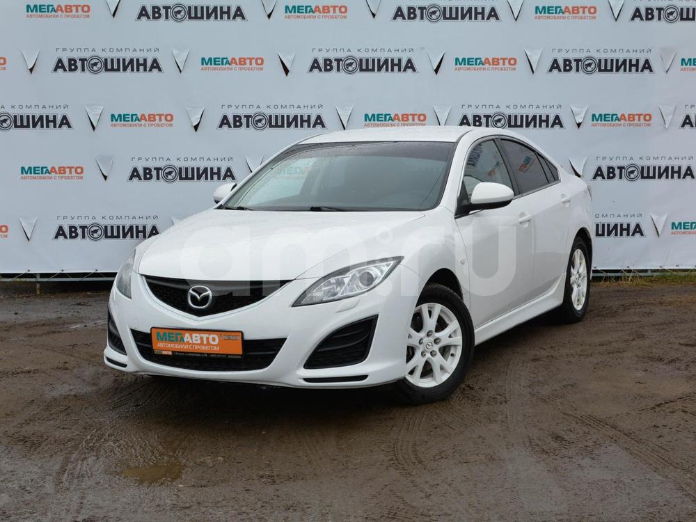 Mazda 6 с пробегом, белый , отличное состояние, 2010 года выпуска, цена 545 000 руб. в автосалоне Мега Авто Калуга (Калуга, ул. Зерновая, д. 28)