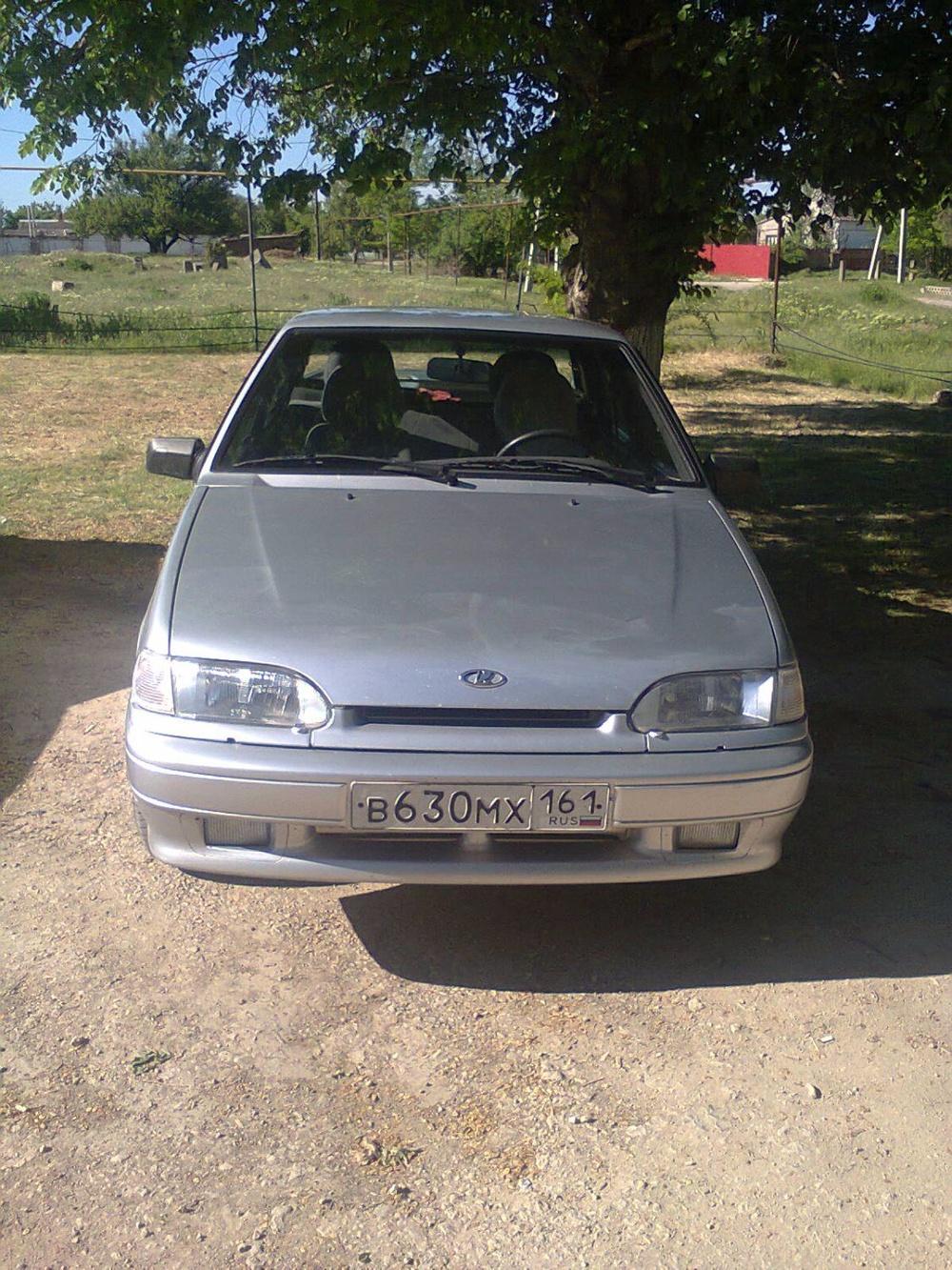 Подержанный ВАЗ (Lada) 2115, отличное состояние, серебряный , 2010 года выпуска, цена 200 000 руб. в Крыму