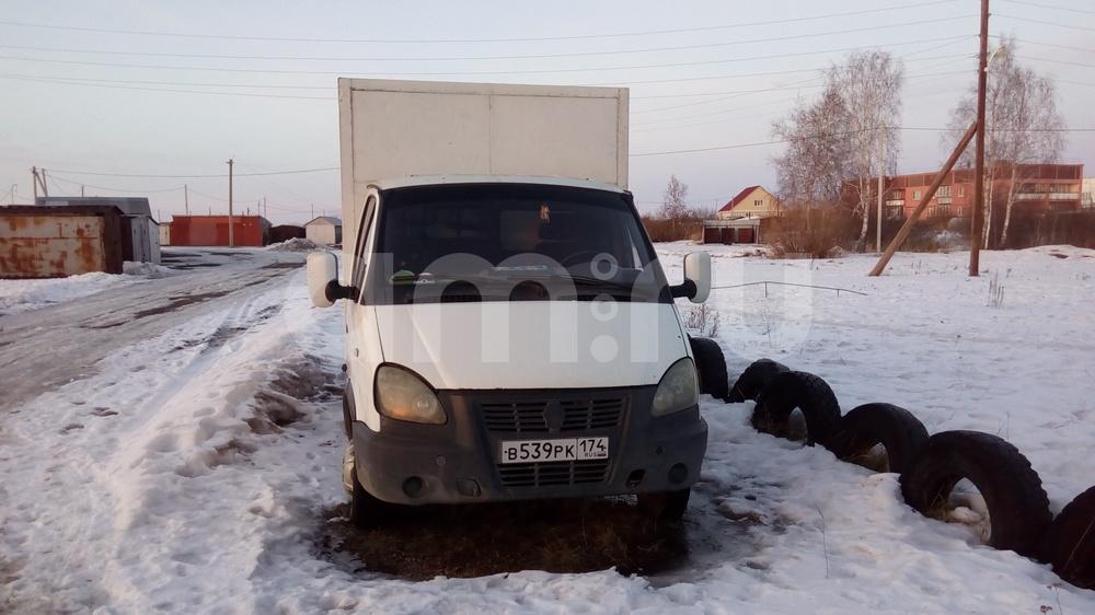 Подержанный ГАЗ Газель, хорошее состояние, белый , 2005 года выпуска, цена 130 000 руб. в Челябинске