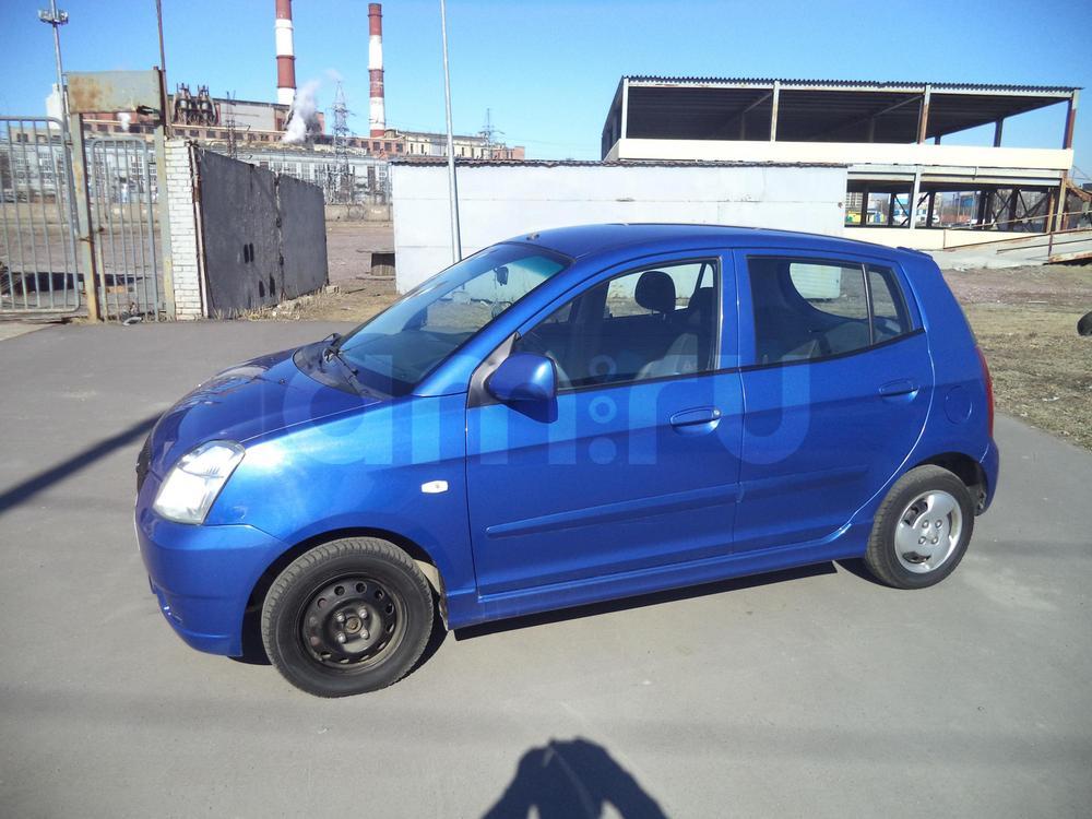 Kia Picanto с пробегом, синий , отличное состояние, 2007 года выпуска, цена 225 000 руб. в автосалоне Инфо Кар Плюс (Санкт-Петербург, дорога на Турухтанные острова, д. 10)