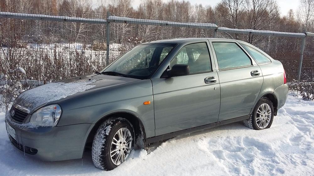 Подержанный ВАЗ (Lada) Priora, отличное состояние, бирюзовый металлик, 2010 года выпуска, цена 200 150 руб. в Челябинской области
