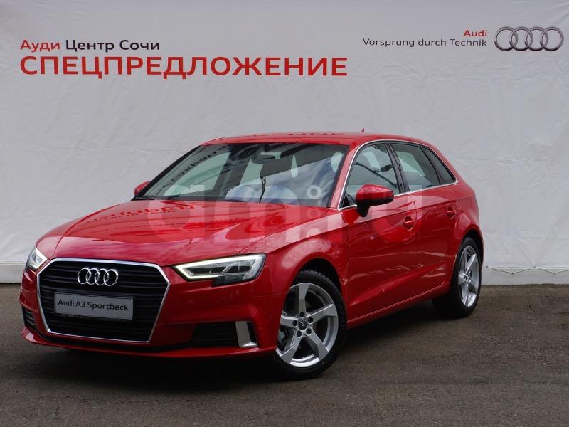 Новый авто Audi A3, красный , 2016 года выпуска, цена 1 500 000 руб. в автосалоне Ауди Центр Сочи (Сочи, ул. Кипарисовая, д. 16/1)