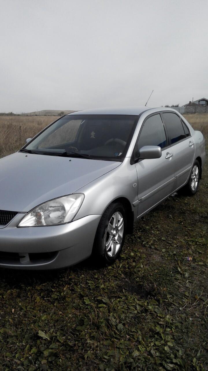 Подержанный Mitsubishi Lancer, хорошее состояние, серебряный , 2007 года выпуска, цена 290 000 руб. в Челябинской области