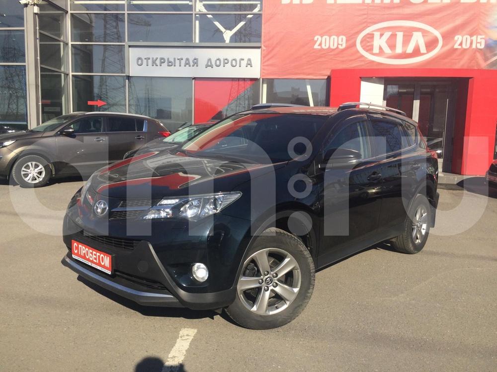 Toyota RAV4 с пробегом, серый , отличное состояние, 2014 года выпуска, цена 1 309 000 руб. в автосалоне Открытая Дорога (Санкт-Петербург, пр-кт Ириновский, д. 10, лит. А (ст. м. Ладожская))