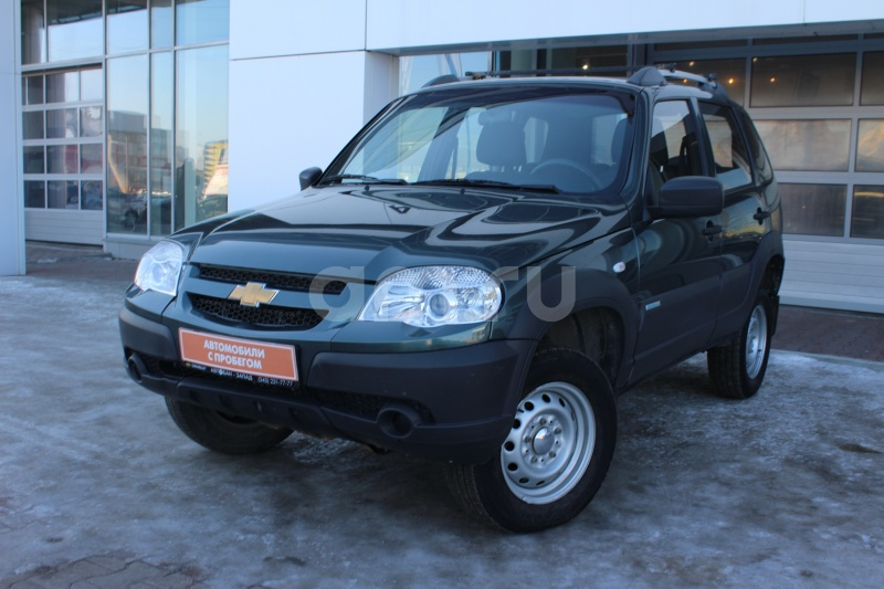 Chevrolet Niva с пробегом, зеленый , отличное состояние, 2014 года выпуска, цена 459 000 руб. в автосалоне Автобан-Запад (Екатеринбург, ул. Металлургов, д. 67)