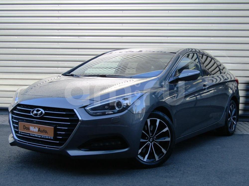 Hyundai i40 с пробегом, серый металлик, отличное состояние, 2015 года выпуска, цена 1 087 100 руб. в автосалоне  ()