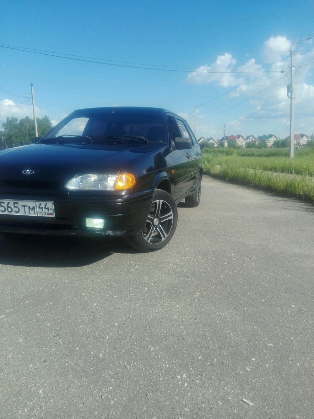 Подержанный ВАЗ (Lada) 2114, отличное состояние, черный , 2012 года выпуска, цена 192 000 руб. в Костромской области