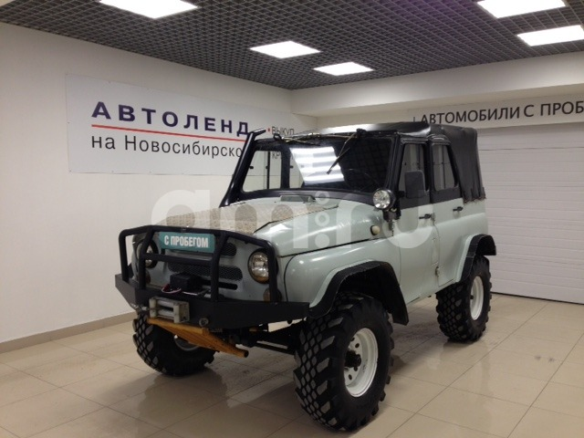УАЗ 3151 с пробегом, белый , отличное состояние, 1994 года выпуска, цена 319 000 руб. в автосалоне Автоленд на Новосибирской (Екатеринбург, ул. Новосибирская Вторая, д. 8)