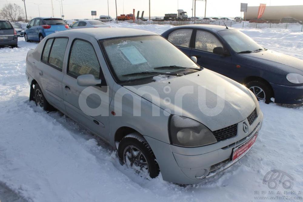 Renault Symbol с пробегом, серебряный , среднее состояние, 2002 года выпуска, цена 89 000 руб. в автосалоне  ()