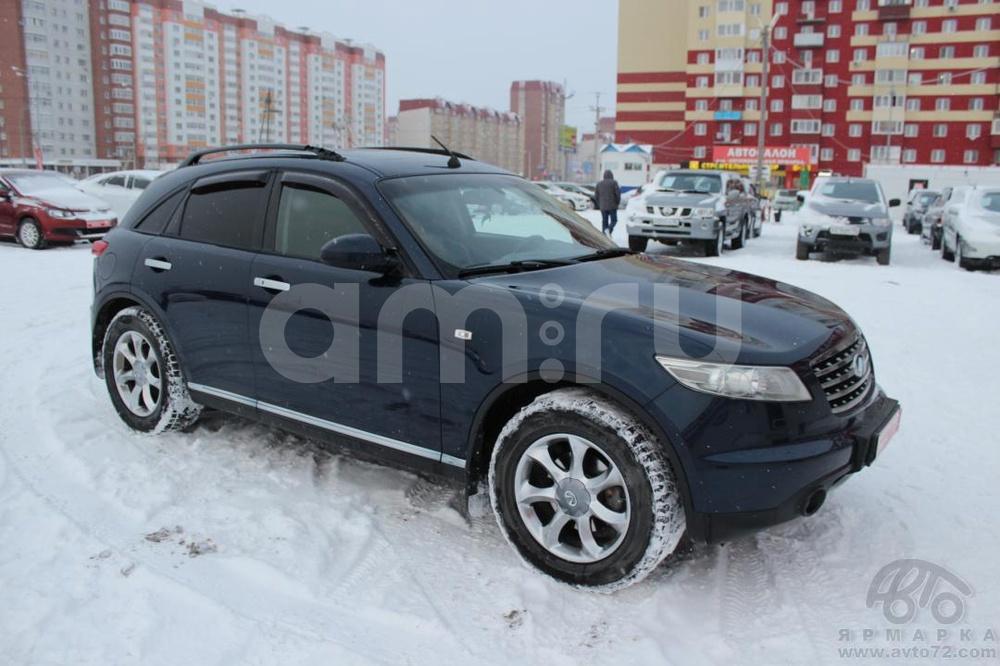 Infiniti FX-Series с пробегом, синий , хорошее состояние, 2007 года выпуска, цена 824 000 руб. в автосалоне  ()