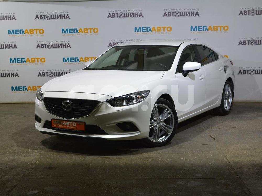 Mazda 6 с пробегом, белый , отличное состояние, 2014 года выпуска, цена 1 059 000 руб. в автосалоне Мега Авто Калуга (Калуга, ул. Зерновая, д. 28)