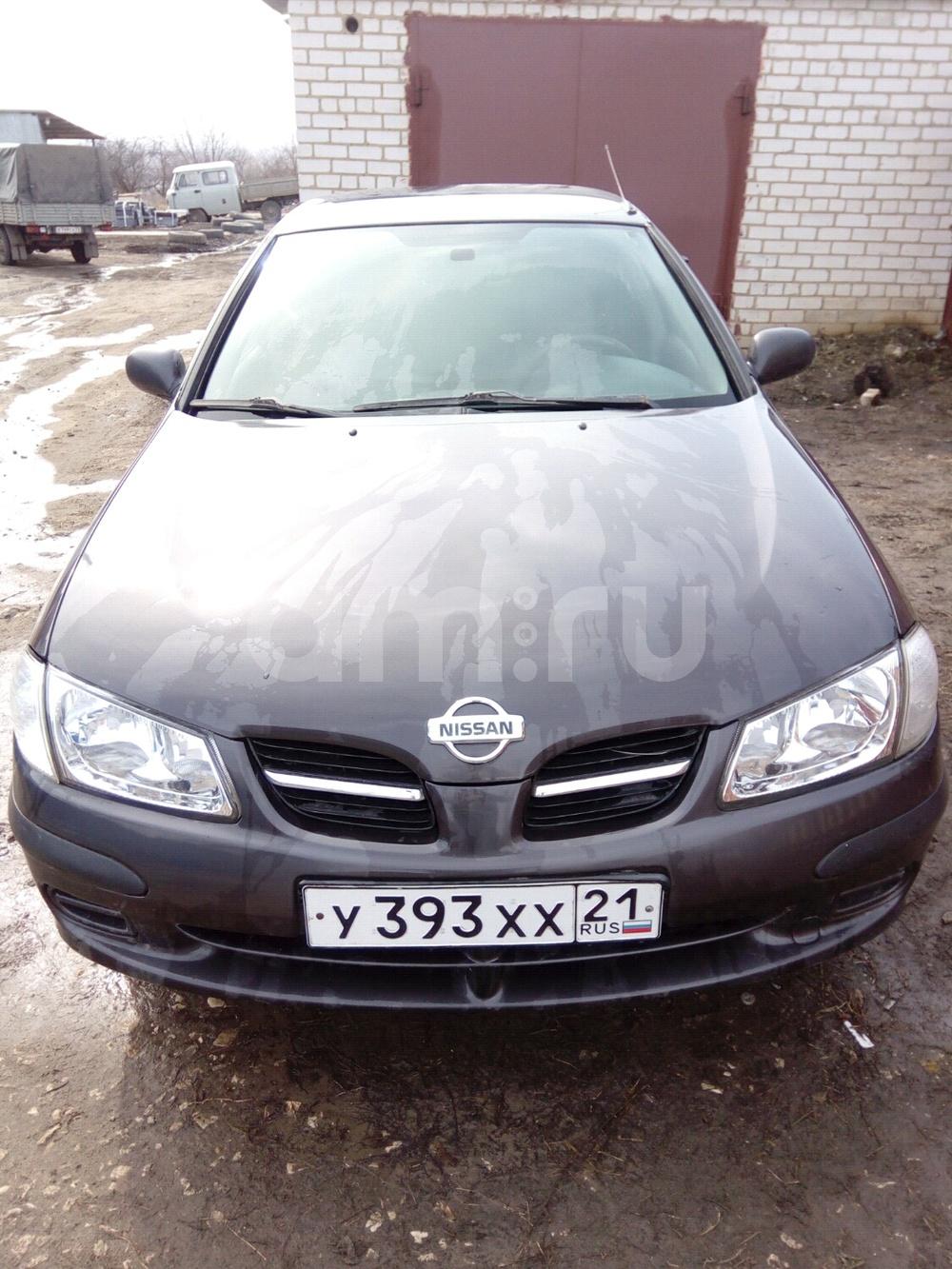 Подержанный Nissan Almera, хорошее состояние, черный , 2000 года выпуска, цена 150 000 руб. в Ульяновске