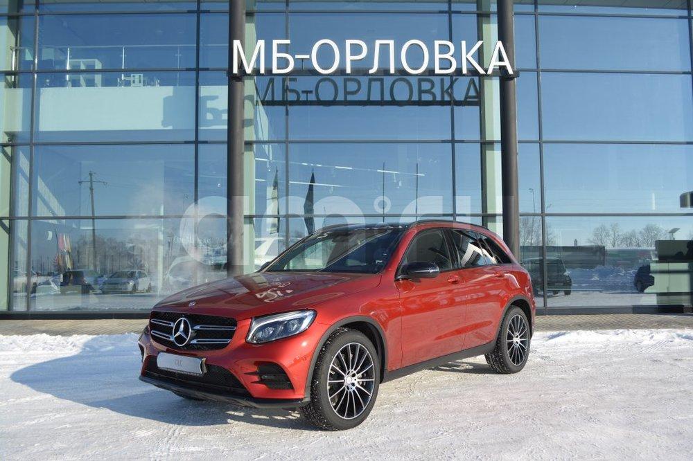 Новый авто Mercedes-Benz GLC-Класс, красный металлик, 2016 года выпуска, цена 3 780 000 руб. в автосалоне МБ-Орловка (Набережные Челны, тракт Мензелинский, д. 24)