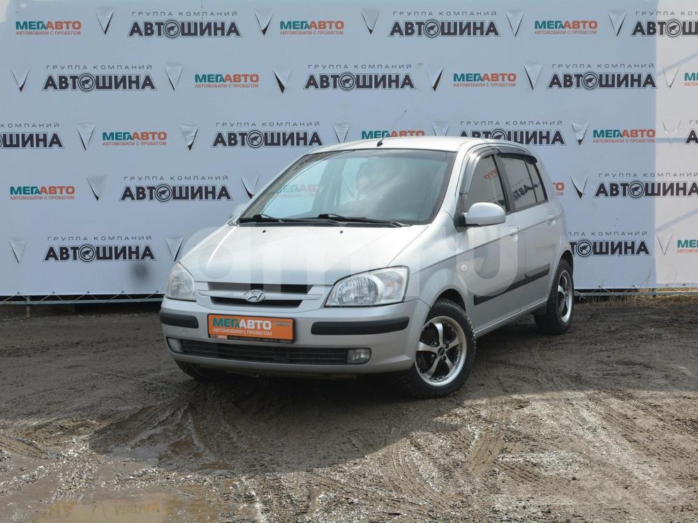 Hyundai Getz с пробегом, серебряный , отличное состояние, 2004 года выпуска, цена 200 000 руб. в автосалоне Мега Авто Калуга (Калуга, ул. Зерновая, д. 28)