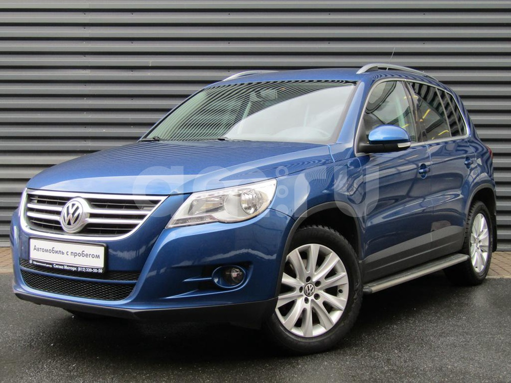 Volkswagen Tiguan с пробегом, синий металлик, отличное состояние, 2010 года выпуска, цена 807 300 руб. в автосалоне  ()