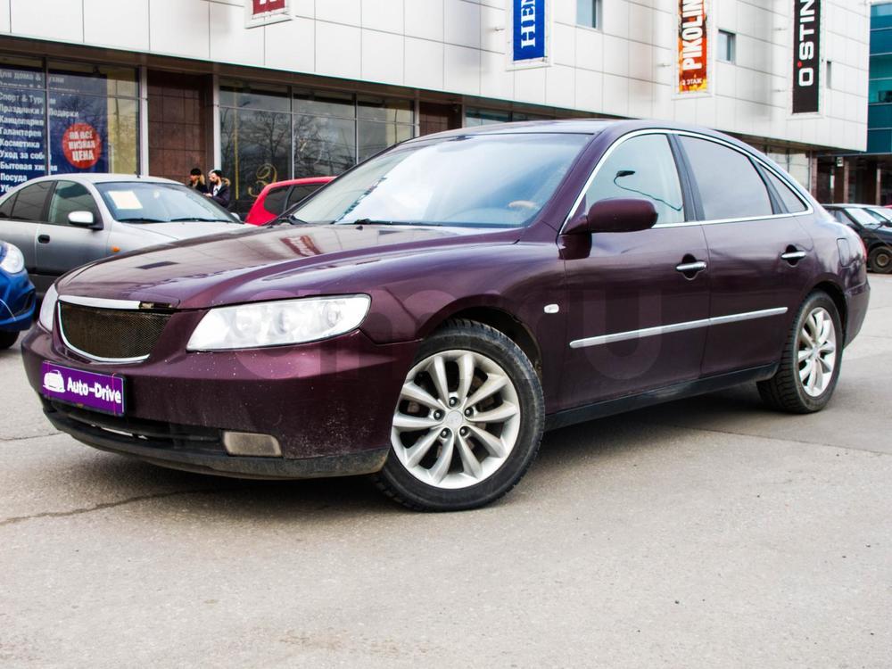 Hyundai Grandeur с пробегом, красный , отличное состояние, 2007 года выпуска, цена 389 000 руб. в автосалоне Auto Drive (Санкт-Петербург, ул. Типанова, д. 21)