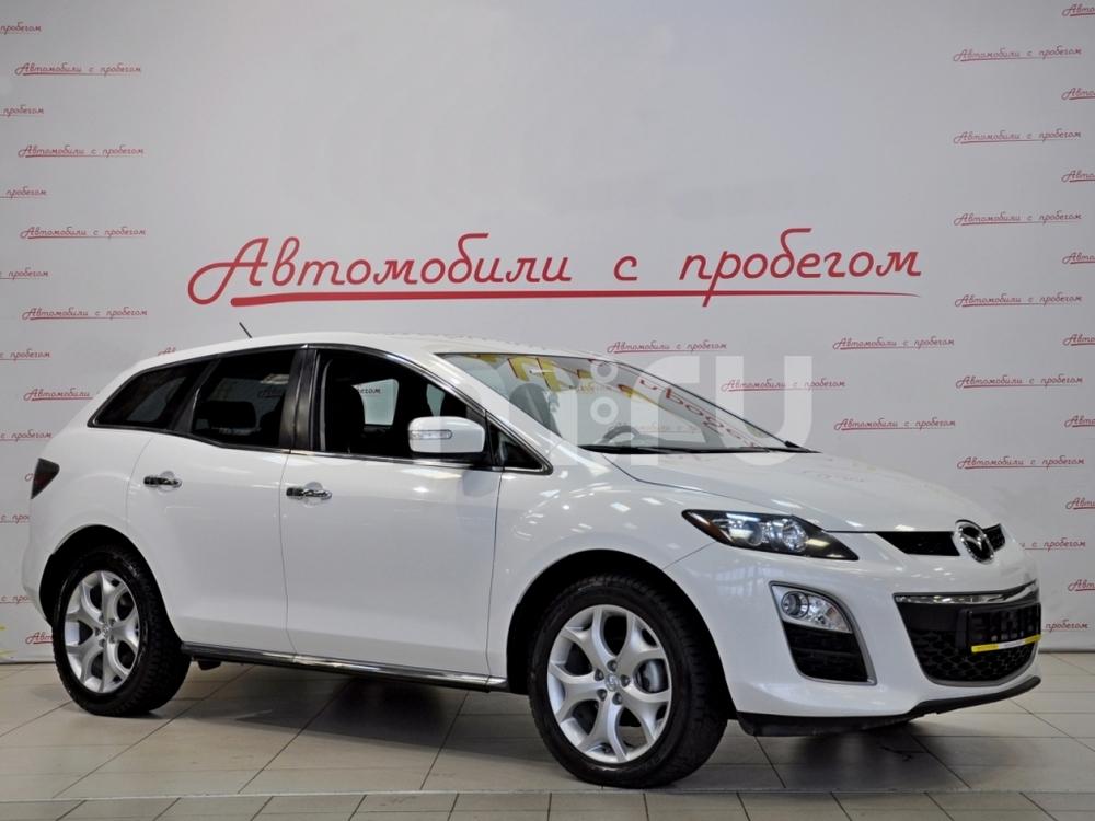 Mazda CX-7 с пробегом, белый , отличное состояние, 2011 года выпуска, цена 715 000 руб. в автосалоне NORTH-AUTO (Санкт-Петербург, пр-кт Маршала Блюхера, д. 54, корп. 1)