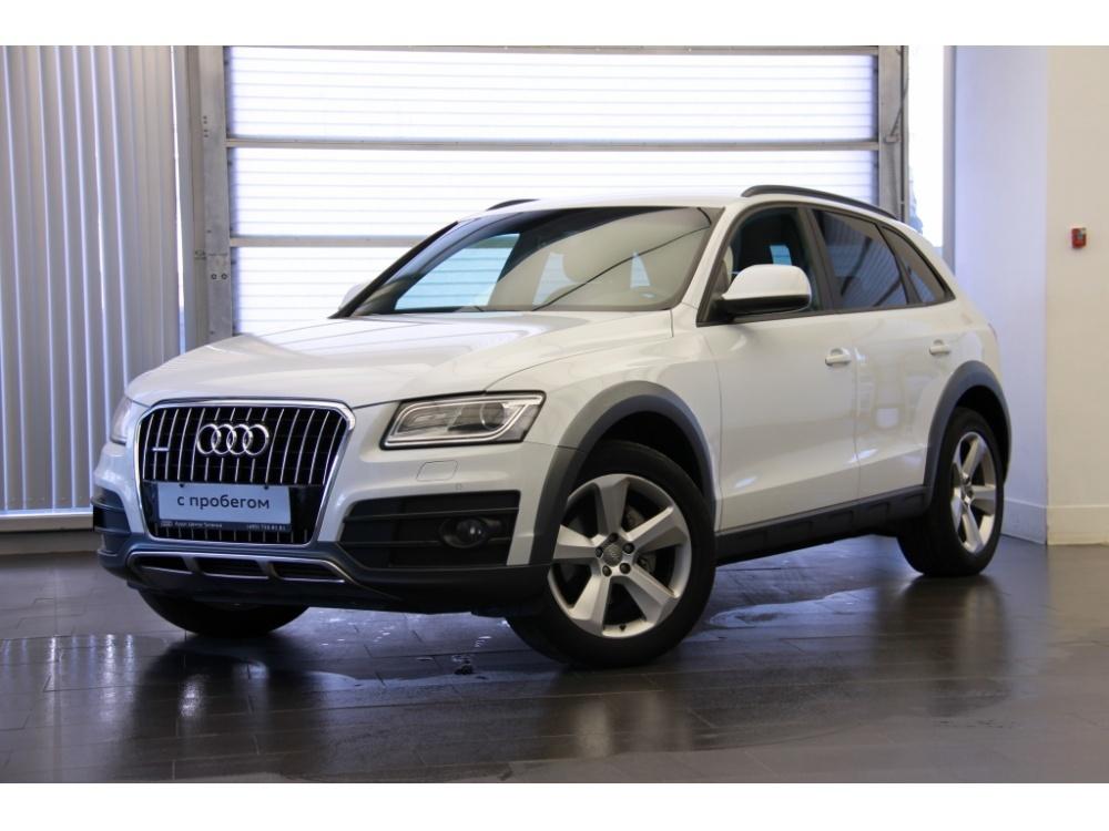 Audi Q5 с пробегом, белый , отличное состояние, 2013 года выпуска, цена 1 650 000 руб. в автосалоне  ()