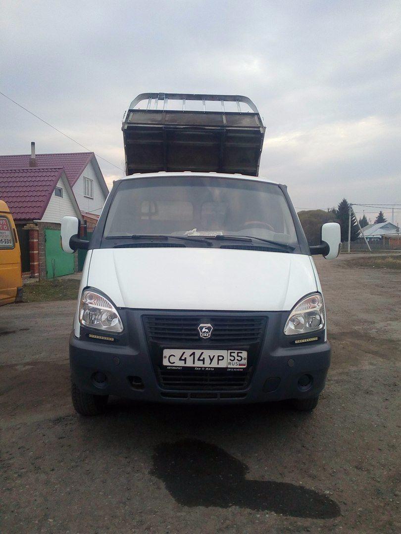 Подержанный ГАЗ Газель, хорошее состояние, белый , 2007 года выпуска, цена 350 000 руб. в Омске