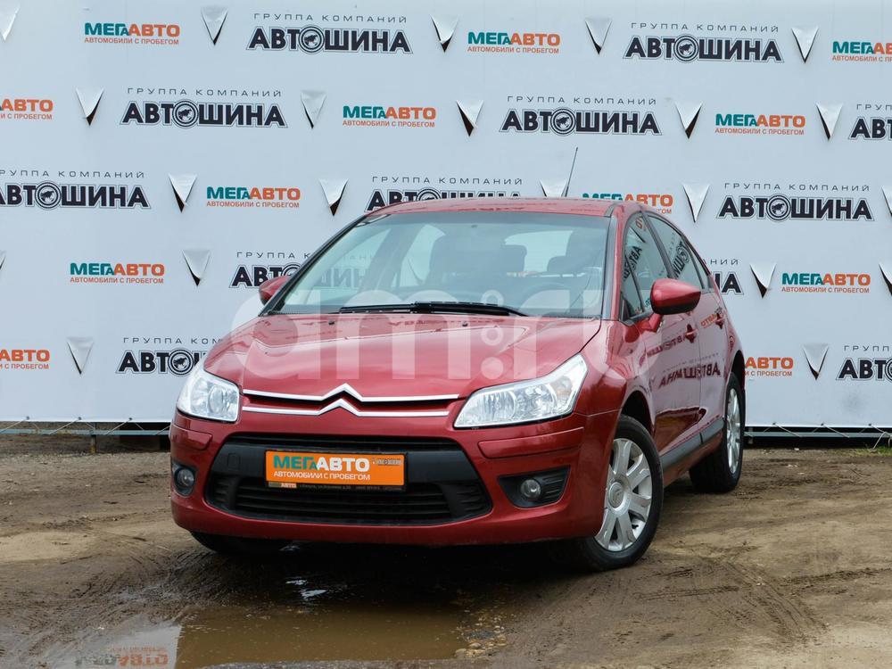 Citroen C4 с пробегом, красный , отличное состояние, 2010 года выпуска, цена 320 000 руб. в автосалоне Мега Авто Калуга (Калуга, ул. Зерновая, д. 28)
