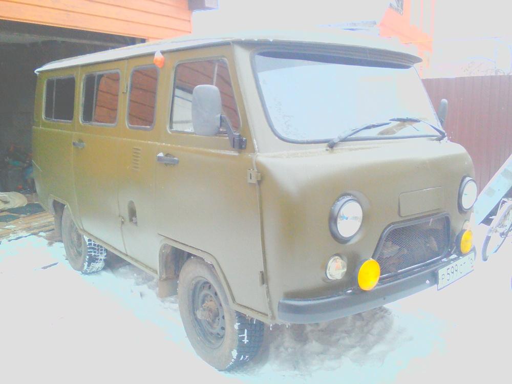 Подержанный УАЗ 2206, отличное состояние, зеленый матовый, 2008 года выпуска, цена 235 000 руб. в республике Татарстане