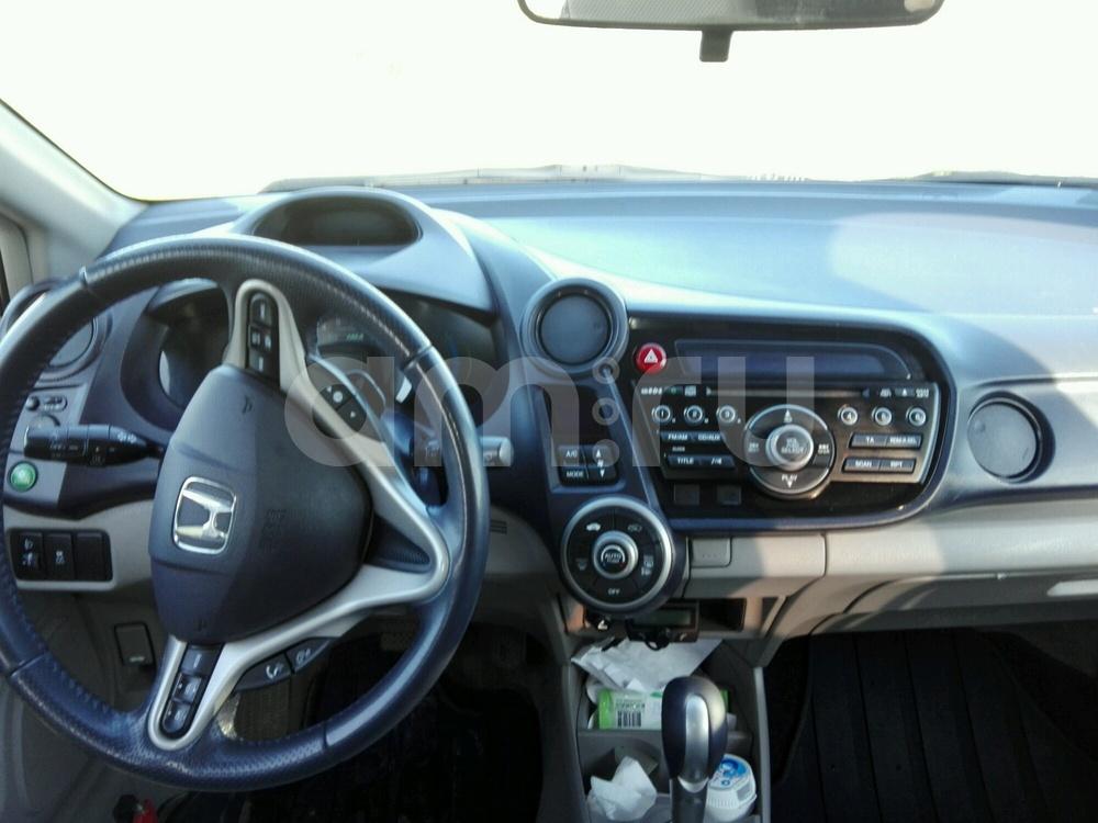 Подержанный Honda Insight, хорошее состояние, коричневый , 2010 года выпуска, цена 500 000 руб. в Ульяновской области