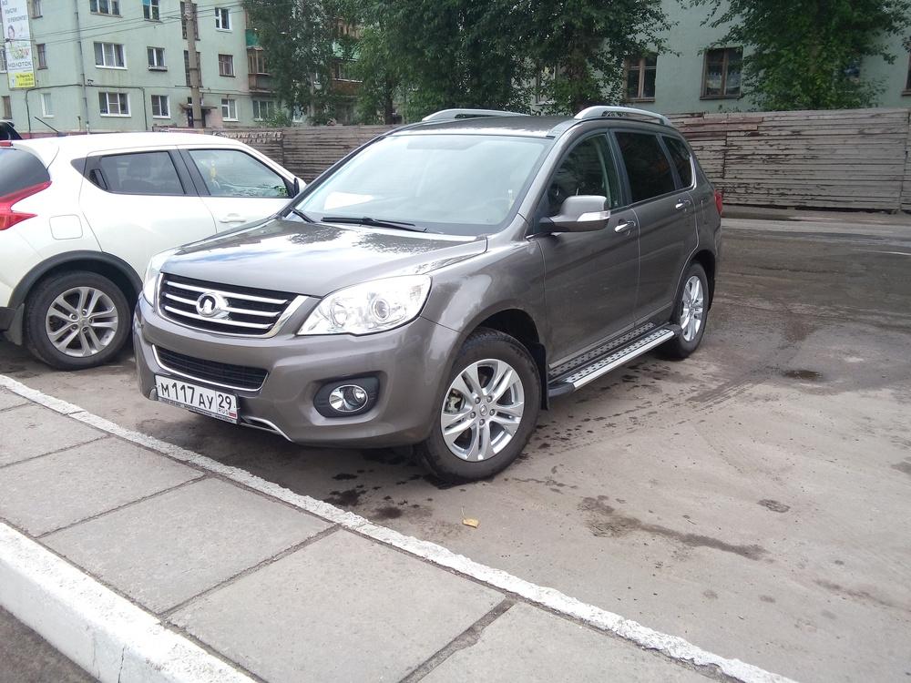 Подержанный Great Wall H6, отличное состояние, мокрый асфальт металлик, 2013 года выпуска, цена 650 000 руб. в Архангельске
