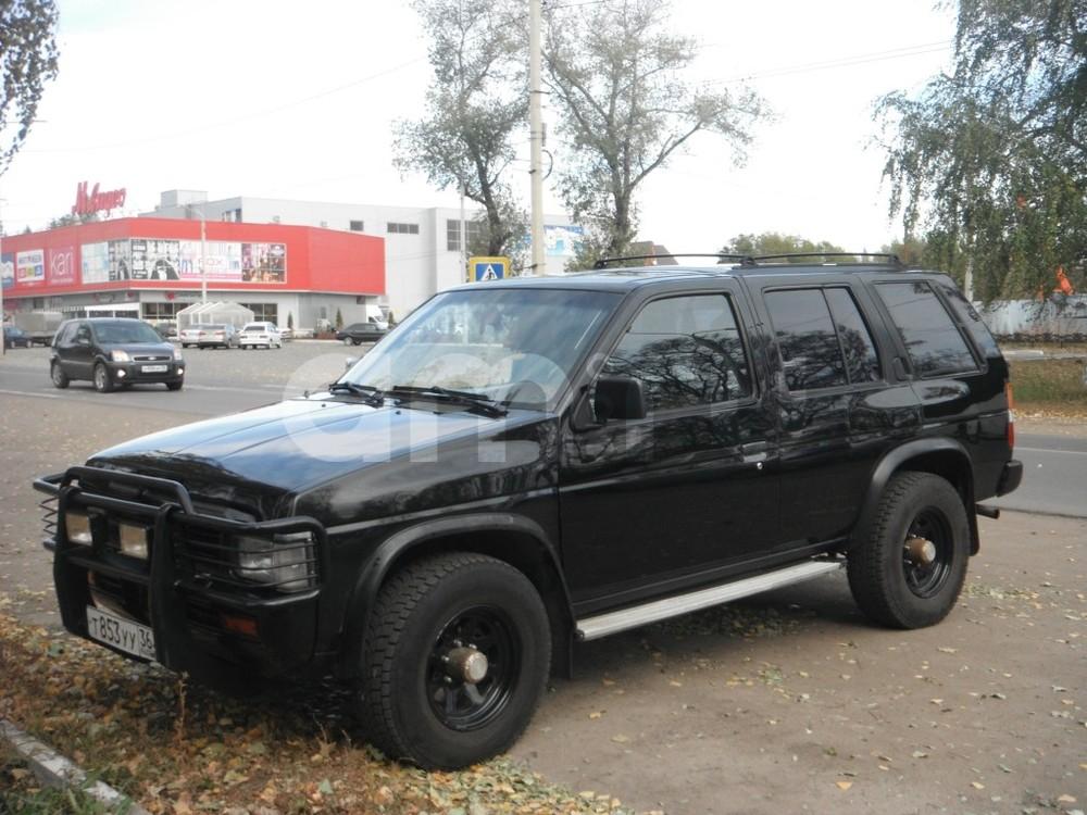 Подержанный Nissan Pathfinder, отличное состояние, черный , 1994 года выпуска, цена 255 000 руб. в Воронежской области
