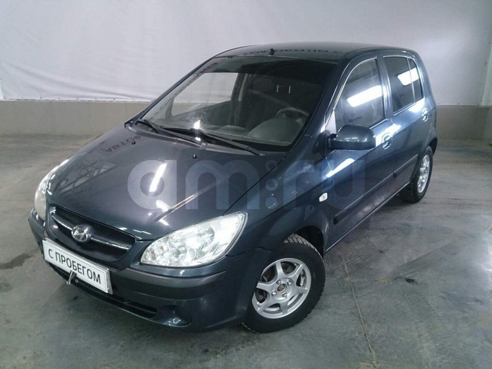 Hyundai Getz с пробегом, серый металлик, отличное состояние, 2007 года выпуска, цена 279 000 руб. в автосалоне АвтоФорум 64 (Саратов, ул. Усть-Курдюмская, д. 33)