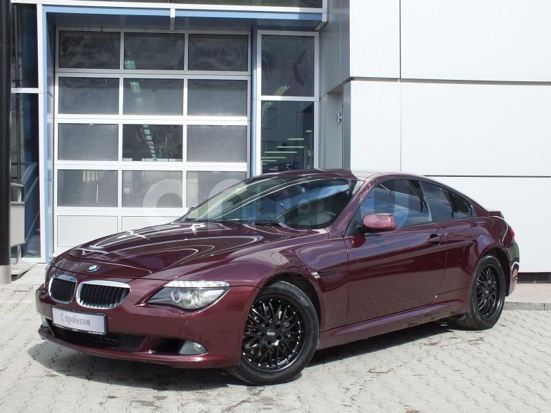 BMW 6 серия с пробегом, красный , отличное состояние, 2008 года выпуска, цена 890 000 руб. в автосалоне Штерн (Екатеринбург, ул. Челюскинцев, д. 10)