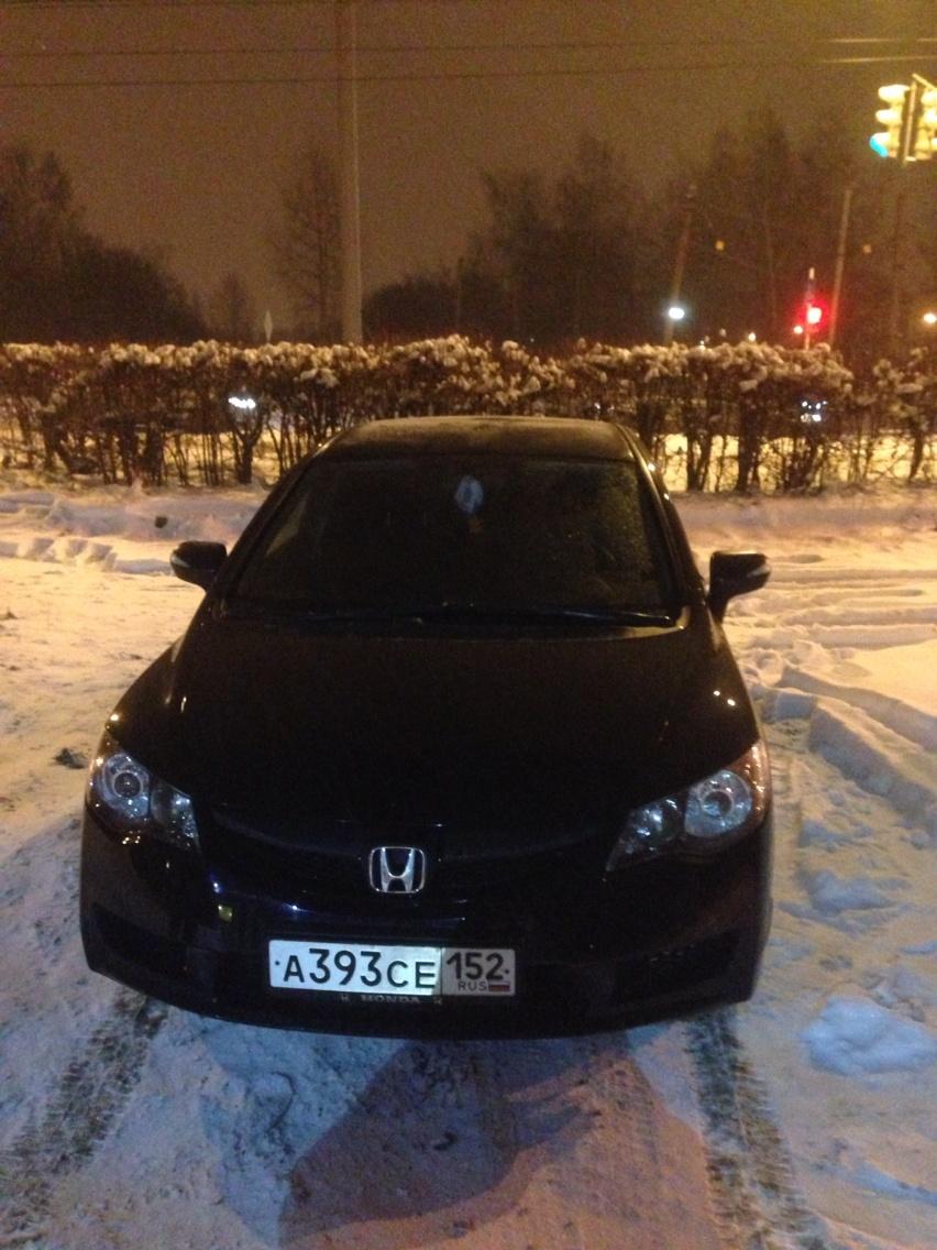 Подержанный Honda Civic, отличное состояние, черный , 2010 года выпуска, цена 520 000 руб. в Нижнем Новгороде