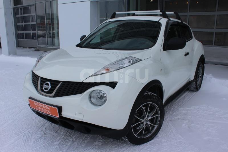 Nissan Juke с пробегом, белый перламутр, отличное состояние, 2014 года выпуска, цена 789 000 руб. в автосалоне  ()