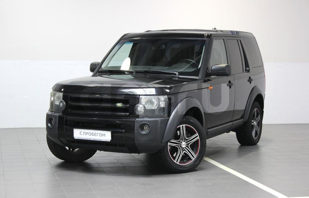 Land Rover Discovery с пробегом, черный , отличное состояние, 2006 года выпуска, цена 599 000 руб. в автосалоне Тойота Центр Сургут Юг (Сургут, тракт Югорский, д. 23, стр. 1)