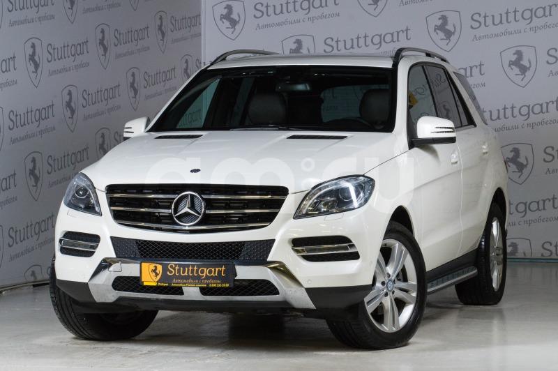 Mercedes-Benz M-Класс с пробегом, белый , отличное состояние, 2013 года выпуска, цена 2 480 000 руб. в автосалоне  ()