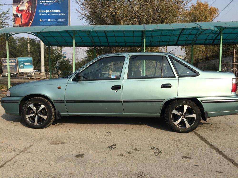 Подержанный Daewoo Nexia, хорошее состояние, бирюзовый , 2008 года выпуска, цена 100 000 руб. в Челябинской области