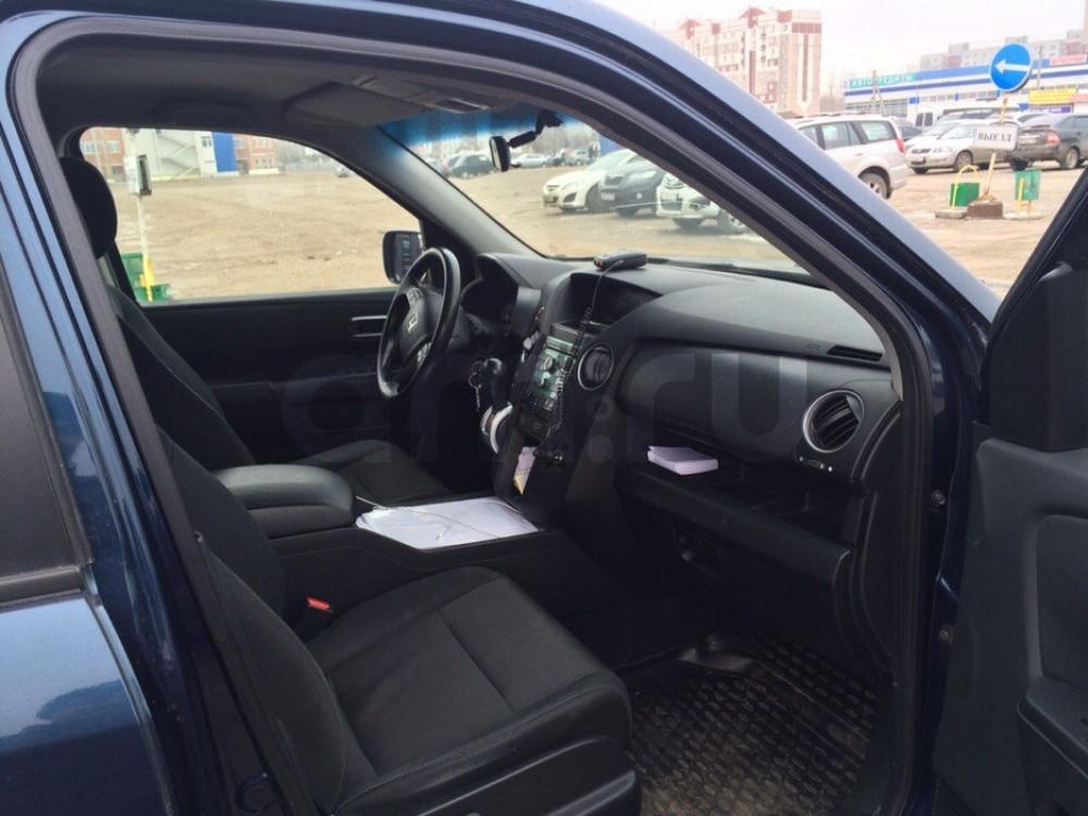 Подержанный Honda Pilot, отличное состояние, синий , 2008 года выпуска, цена 820 000 руб. в Ульяновске
