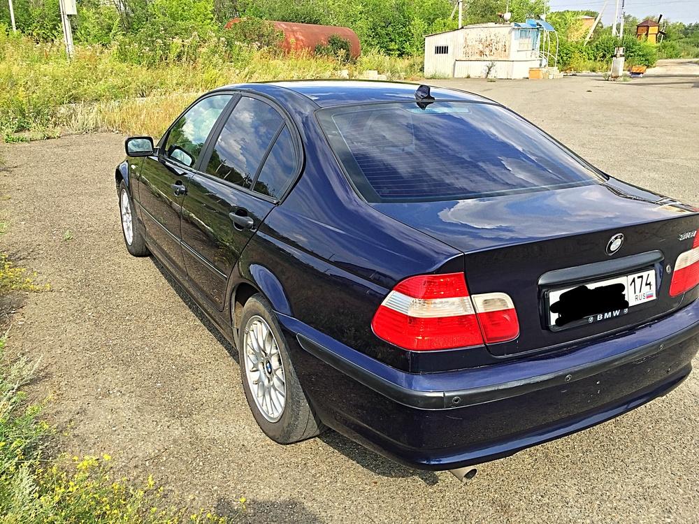Подержанный BMW 3 серия, хорошее состояние, синий , 2004 года выпуска, цена 370 000 руб. в Челябинской области
